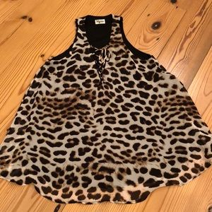 Mumu leopard dress